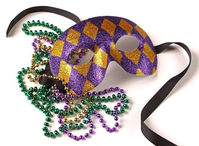 It's Mardi Gras!
