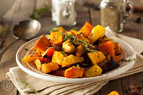 Roasted Root Vegetable Recipe by MorningStar Kitchen