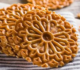 Sweet Shoppe Pumpkin Pizzelle Recipe by MorningStar Kitchen
