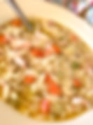 French Roasted Chicken Noodle Soup Recipe by MorningStar Kitchen