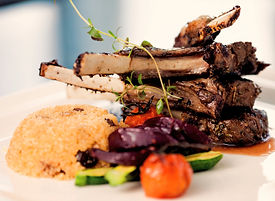 Grilled Lamb and Couscous with Spice Masters Ras El Hanout Seasoning from MorningStar Kitchen