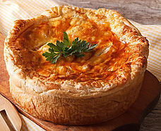 Fit For A King Turkey Pot Pie Recipe by MorningStar Kitchen