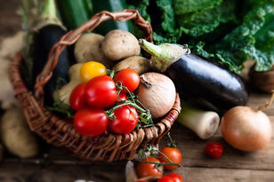 Farm Fresh Vegetables Form the Foundation for our Farmhouse Fusion Culinary Style
