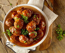 Chimichurri Meatball Recipe by MorningStar Kitchen
