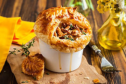 Mushroom Pot Pie with Great Lakes Juniper SeasoninRecipe by MorningStar Kitchen
