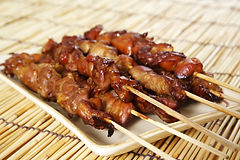 Grilled Chicken Skewers with Five! Chinese Five Spice Seasoning Recipe