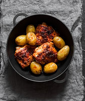 Casablanca Style Chicken by MorningStar Kitchen