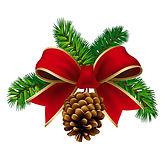 Christmas Bow & Greens.jpg