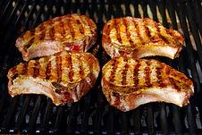 Pork Chops Glazed with Vermont Maple Sugar from MorningStar Kitchen