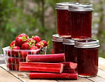 Strawberry Rose' Rhubarb Jam Recipe by MorningStar Kitchen