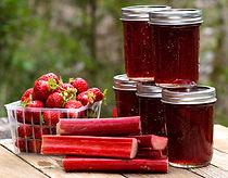 Strawberry Rose' Rhubarb Jam Recipe by MorningStar Kitchen