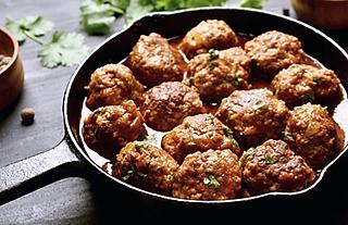 Farmhouse Lamb Meatball Recipe by MorningStar Kitchen