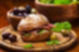 Salami Sandwich with Spanish Olive Aioli Recipe by MorningStar Kitchen