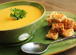 Curried Patty Pan Bisque Recipe by MorningStar Kitchen