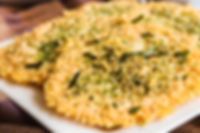 Parmesan Crisps with Napa Style Seasonin by MorningStar Kitchen