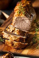 Grilled Pork Tenderloing with Vanilla Bean Sea Salt from MorningStar Kitche