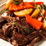 Farmhouse Pot Roast with Great Lakes Juniper Berry Seasoning Recipe by MorningStar Kitchen