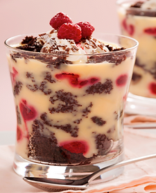 Almond Fudge Trifle Recipe from MorningStar Kitchen
