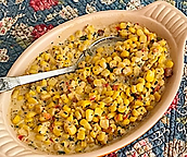 Fireworks Corn Pudding Recipe by MorningStar Kitchen