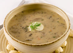 Great Lakes Mushroom Bisque Recipe by MorningStar Kitchen