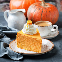 Pumpkin Cheesecake by MorningStar Kitchen