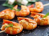 Grilled Shrimp with Japanese Table Aioli Recipe by MorningStar Kitchen