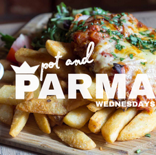 WED Parma Night!  Open from 5:30pm