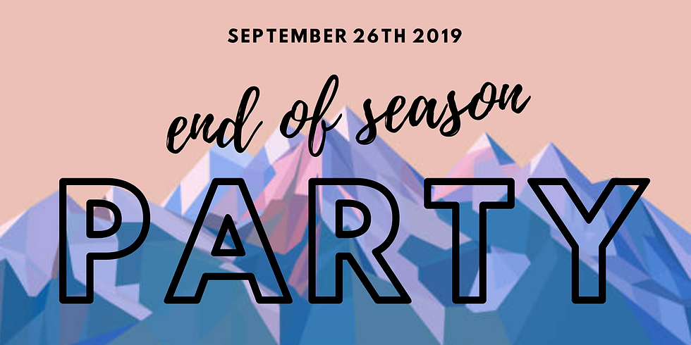 End of season celebration ... get a group together!