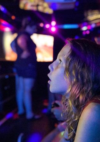 girl in gametruck