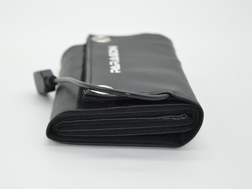 Leather 9W Portable Solar Charger