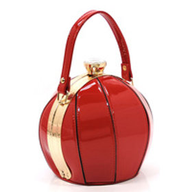 Red Small Ball Shape Evening Bag