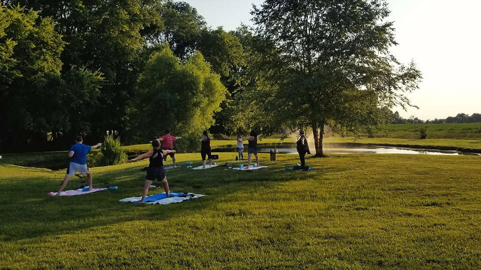 Sunday Morning Restorative Yoga and Flower Bar July 25 @ 9am