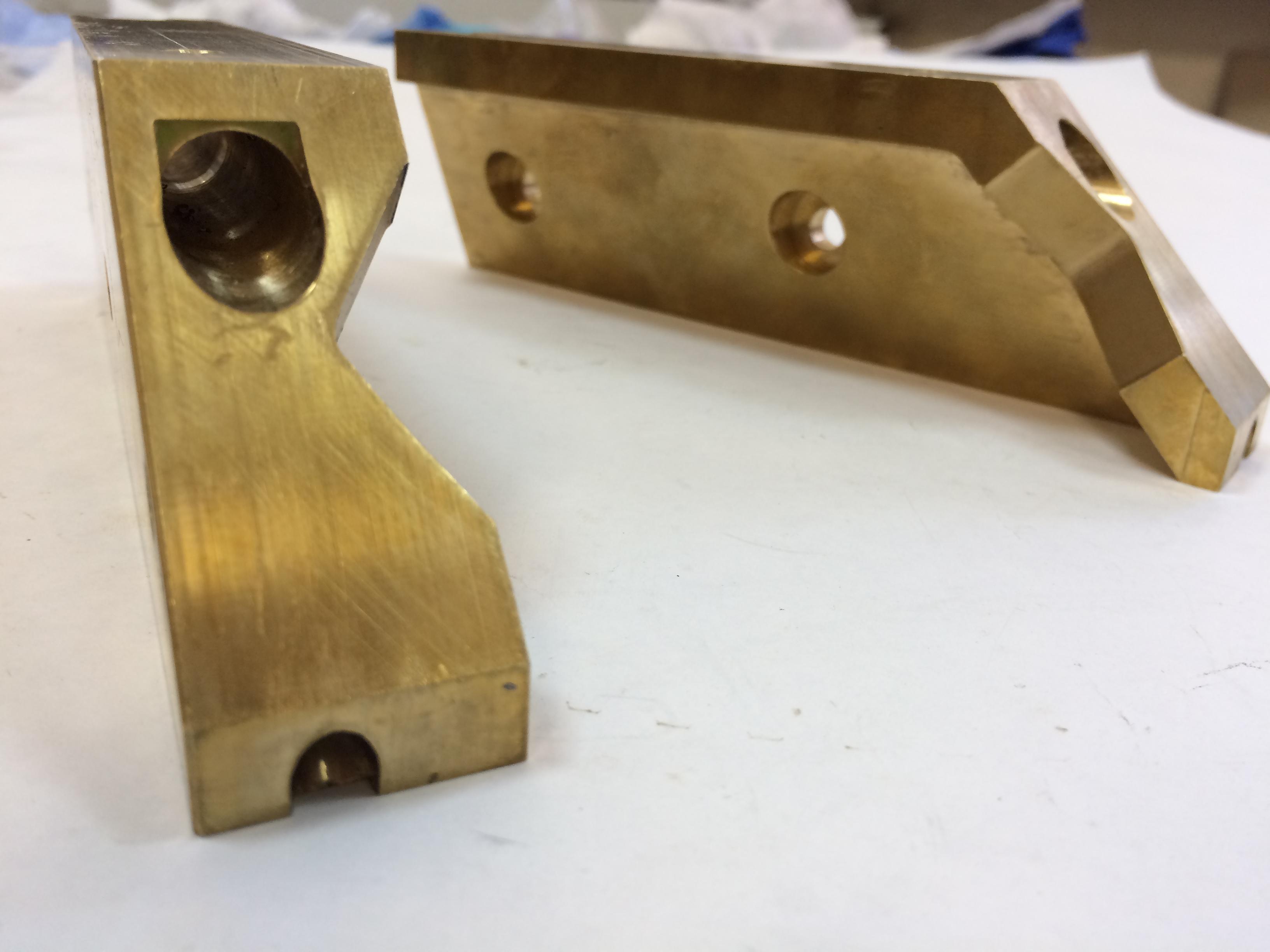 Губки латунные для спайки упаковок