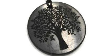 large tree of life shungite necklace