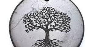 small tree of life shungite necklace