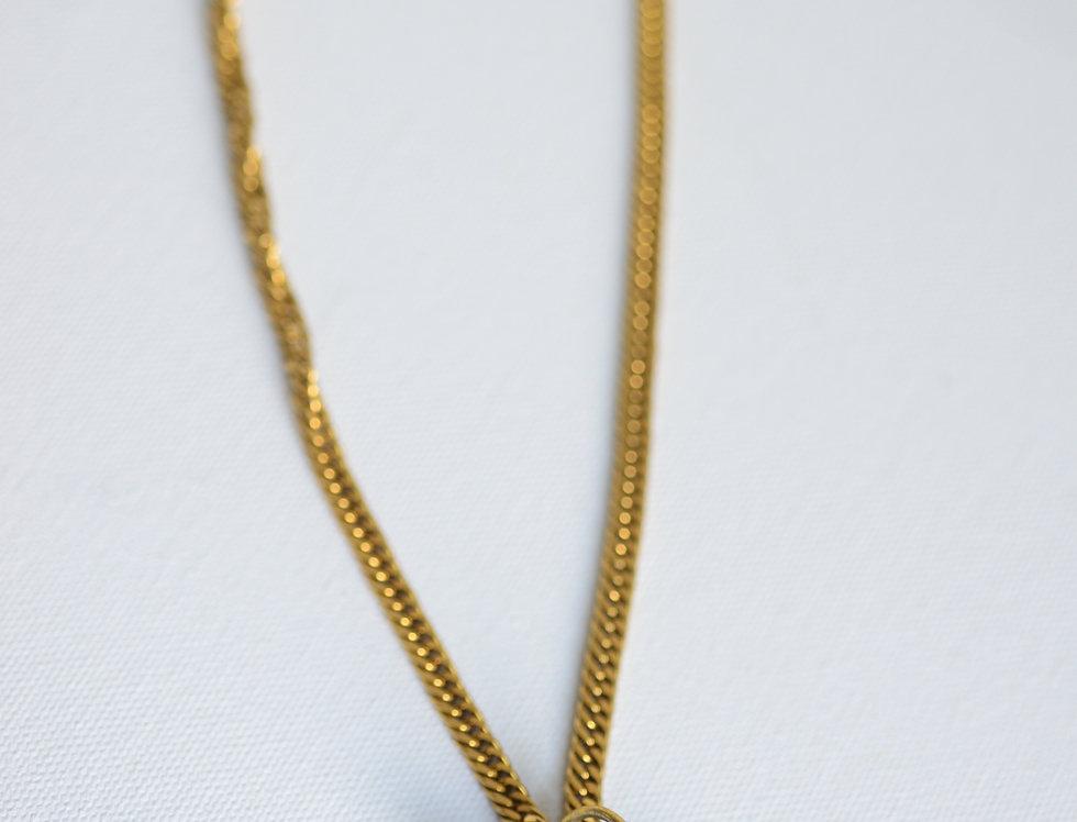 shunite 9k gold plated chain