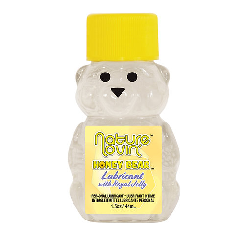 Nature Lovin' Honey Bear Water Based Personal Lubricant