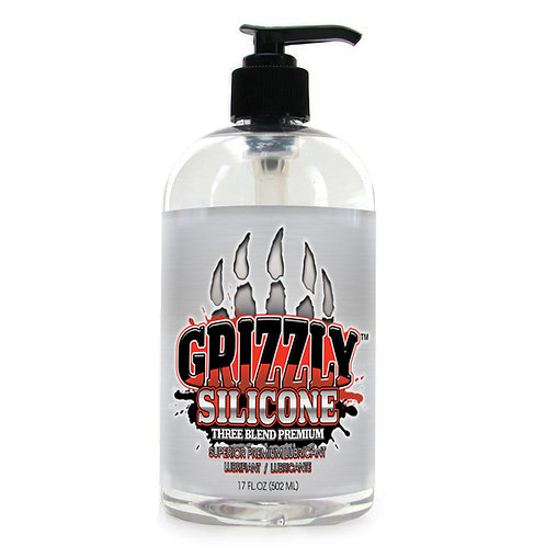 Grizzly 3 Blend Premium Silicone Personal Lubricant
