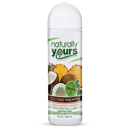 Naturally Yours - Coconut Pineapple Natural Personal Lubricant
