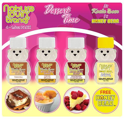 Koala Dessert Time Flavored Lubricant 4 Pack Sampler