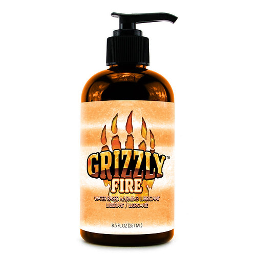 Grizzly Fire Water Based Warming Personal Lubricant