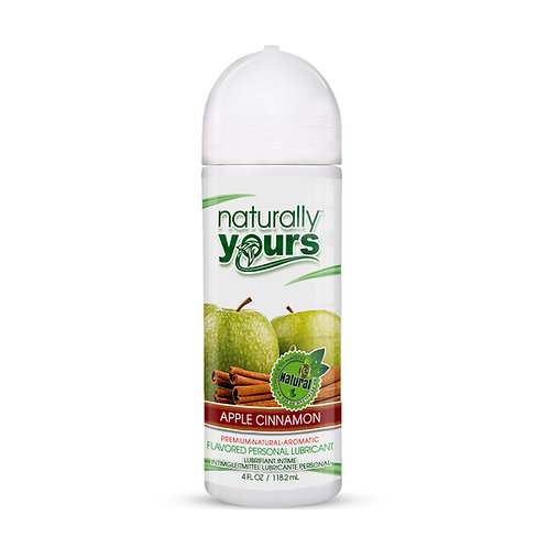 Naturally Yours - Apple Cinnamon Natural Personal Lubricant