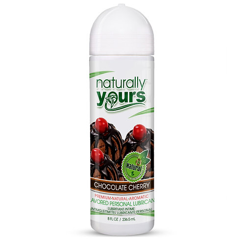 Naturally Yours - Chocolate Cherry Natural Personal Lubricant
