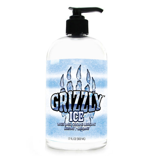 Grizzly Ice Water Based Cooling Personal Lubricant