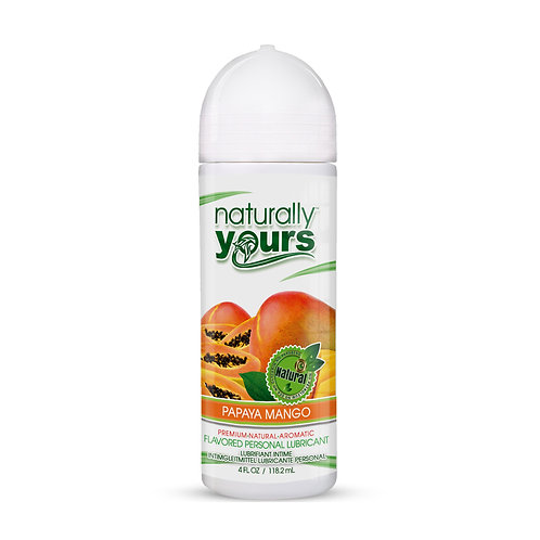 Naturally Yours - Papaya Mango Natural Personal Lubricant