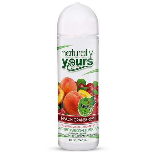 Naturally Yours - Peach Cranberry Natural Personal Lubricant