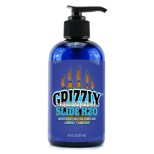 GRIZZLY SLIDE H2O Water Based Premium Personal Lubricant