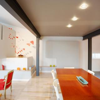 Spots LED encastrés, délimitation de zone d'éclairage - Logement Loft
