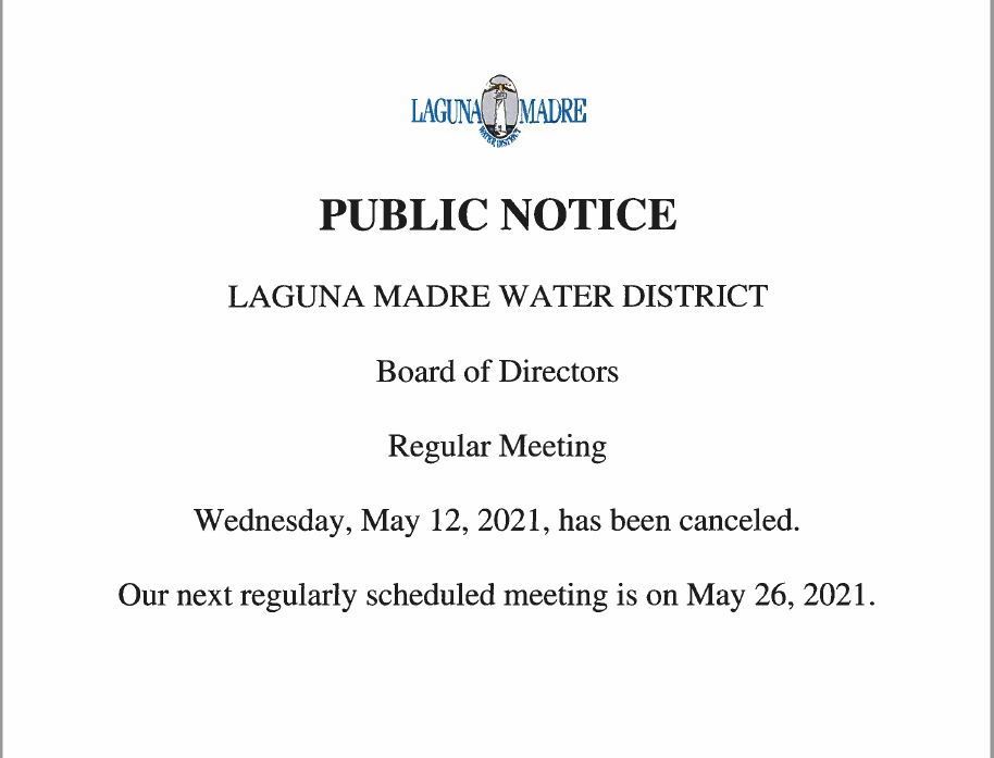 Board Meeting Cancelation.PNG