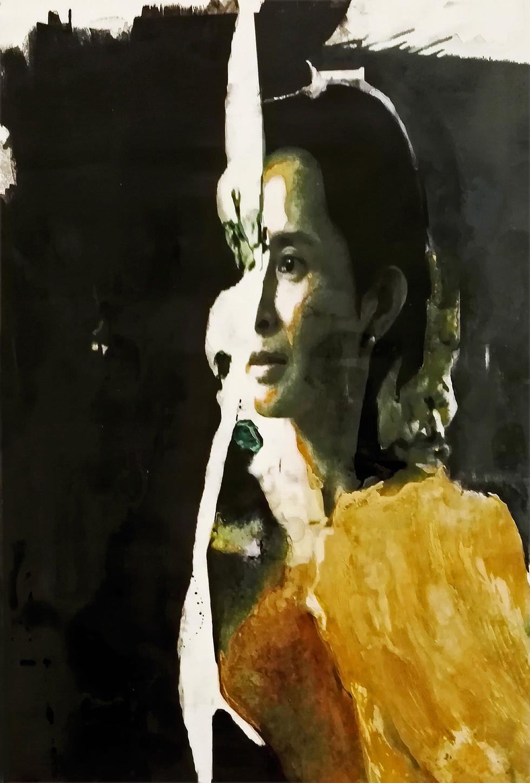 CAROLINE DE BOISSIEU - AUNG SAN SUU KYI-